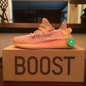 Men's Adidas Yeezy Boost 350 V2 Clay Size 7 NEW